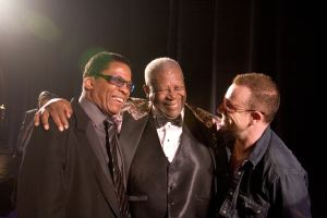 Herbie Hancock, B.B. King and Bono