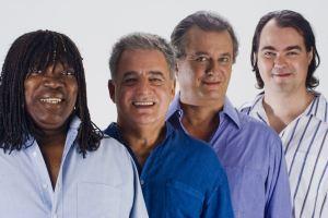 Milton Nascimento, Paulo Braga, Paulo Jobim and Daniel Jobim
