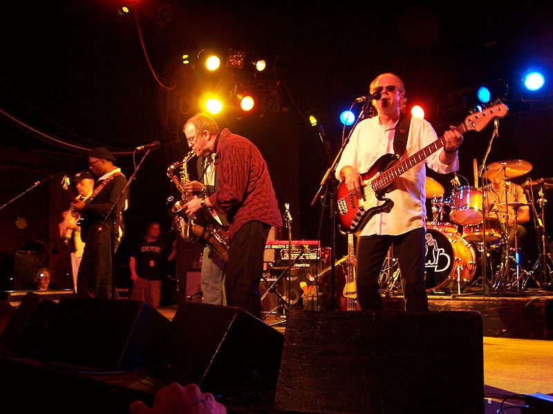 Opening the show was the Average White Band, an enduring Scottish funk/soul