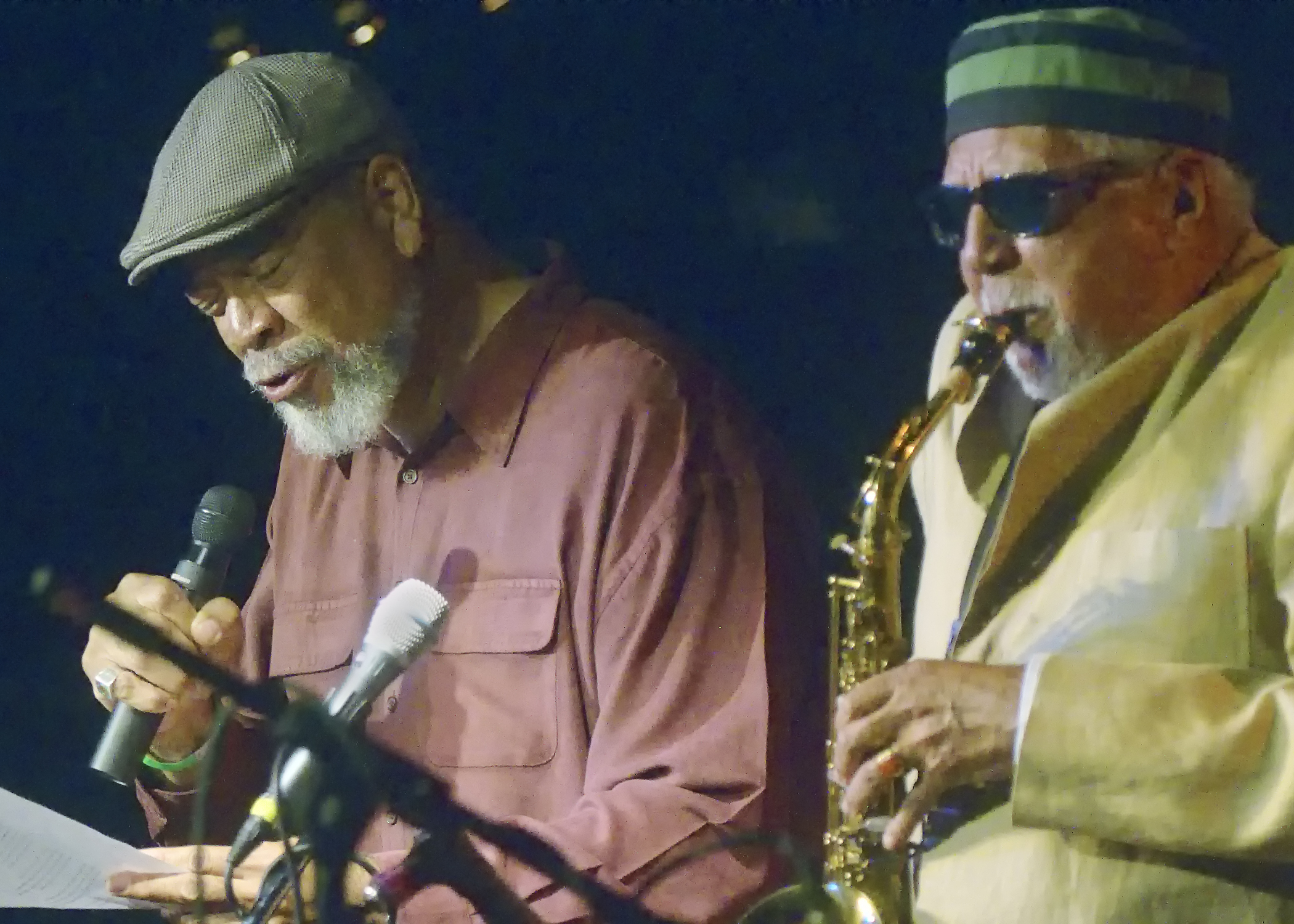 Kamau Da'ood and Charles Lloyd