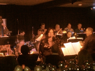 April Williams with the Ron Jones Jazz Influence Band