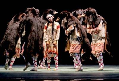 Controversial ballet Le Sacre du printemps performed in Paris