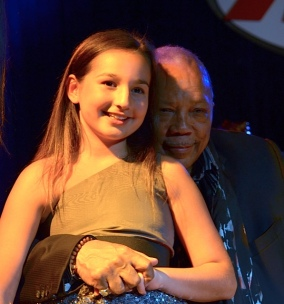Emily Bear and Quincy Jones
