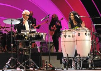 Sheila E and Pete Escovedo