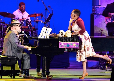 Dr. John and Dee Dee Bridgewater