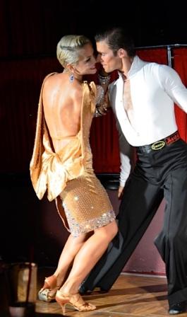 Maria Nikolishina and Nikolai Vononovich