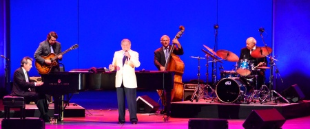 Tony Bennett with Lee Musiker, Gray Sargent, Marshall Wood and Harold Jones