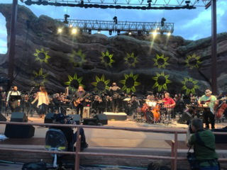 Warren Haynes and the Colorado Symphony at Red Rocks