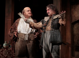 Roberto Frontali as Falstaff and Rodell Rosel as Bardolph.