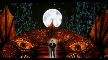 "Tamino in the opening scene of ""The Magic Flute"""