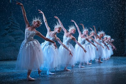 "Snowflakes Ensemble in ""The Nutcracker"""