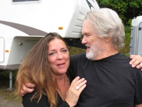 Carlene Carter and Kris Kristofferson