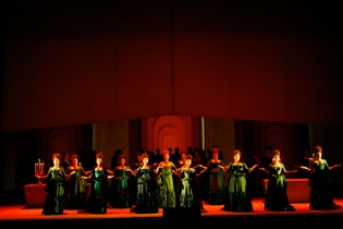 """The cast of """"Lucia di Lammermore"""