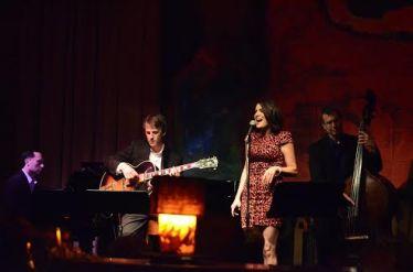 Ariana Savalas and her band