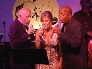 Mitch Ellis, Lisa Herbert and Pierre Chambers