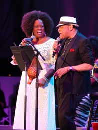 Dianne Reeves and Al Jarreau