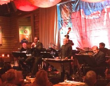 Robert Davi and his band at Vibrato
