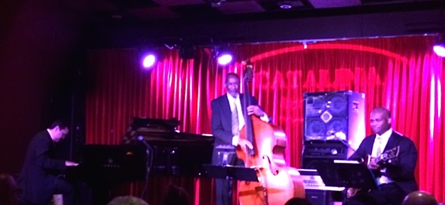 The Ron Carter Trio: Donald Vega, Ron Carter and Russell Malone