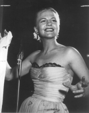 Peggy Lee at mic gestures