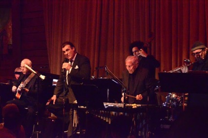Roberto Davi and his band.