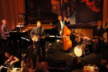 Tony Galla with his trio