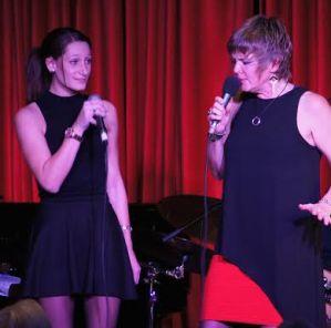 Aubrey Caswell and Karrin Allyson