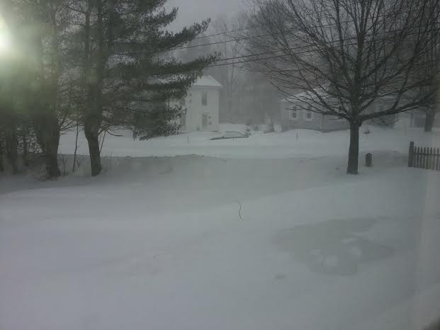 Blizzard 15 hits Freeport, Maine