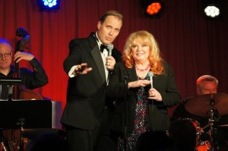 Bill Jones and Sally Struthers