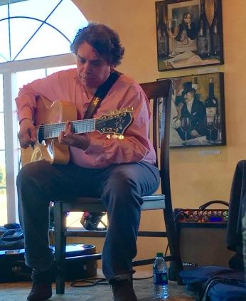 Howard Alden plays 7-string guitar